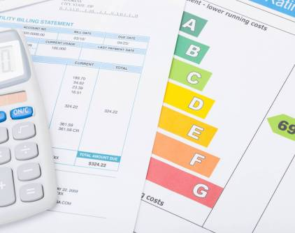 Energy,Efficiency,Chart,,Utility,Bill,And,Calculator