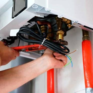 Reparación de calderas y otras instalaciones