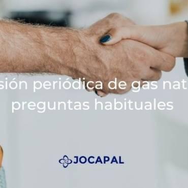 Revisión periódica de gas natural: preguntas habituales