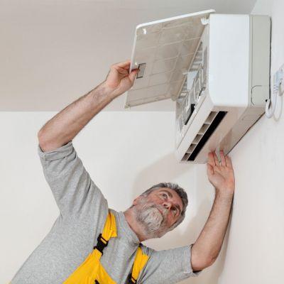 preinstalación de un aire acondicionado