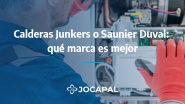 Calderas Junkers o Saunier Duval: qué marca es mejor
